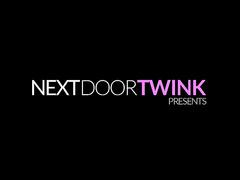 Skinny teen twinks are pleasuring hot ass fuck